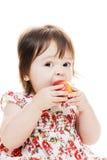Большой укус яблока Стоковые Фотографии RF