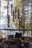 Большой урожай гриба Стоковое Фото