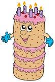 большой шарж торта бесплатная иллюстрация