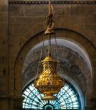 Большой censer Botafumeiro в соборе Santiago de Compostela стоковые изображения