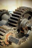 Большой cog катит внутри мотор Стоковая Фотография RF