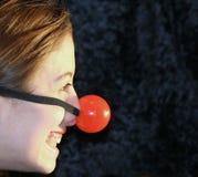 больш мой красный цвет носа Стоковое Фото