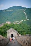 Больш стены Китая Стоковая Фотография