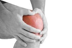боль колена Стоковые Изображения RF