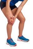 Боль колена Стоковые Изображения