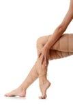боль ног принципиальной схемы Стоковое Изображение RF