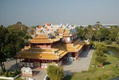 Боль челки - королевский летний дворец, Таиланд Стоковая Фотография