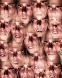 Боль человека головная Стоковое фото RF