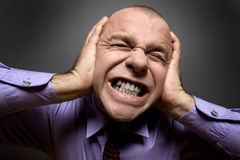 боль человека Стоковые Изображения RF