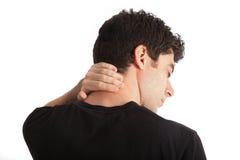боль шеи стоковые фото