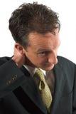 боль шеи Стоковая Фотография RF