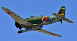 Бомбардировщик торпедо Nakajima B5N японца Стоковая Фотография RF