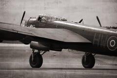 бомбардировщик lancaster Стоковое фото RF