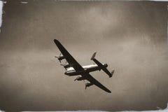 бомбардировщик lancaster Стоковое Фото