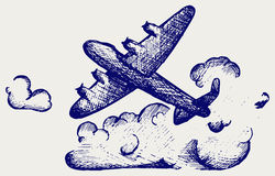 Бомбардировщики Ланкастера Стоковое Изображение