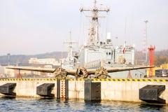 Бомбардировщик развалины Стоковое Изображение RF