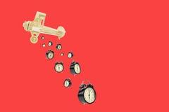 Бомба будильника Стоковое Изображение RF