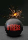 Бомба стресса Стоковые Фото