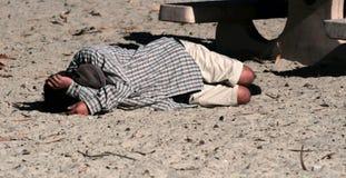 бомж пляжа Стоковые Фото