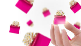 Бонусы подарков скидки стоковое изображение rf