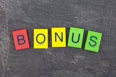 Бонус стоковые изображения