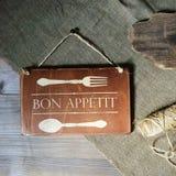 Бон Appetit Стоковая Фотография