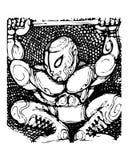 борец Стоковая Фотография RF