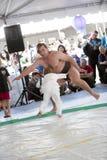 борец sumo ребенка Стоковое Изображение