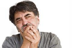 бородатый человек Стоковые Изображения RF