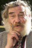 бородатый человек Стоковое Изображение