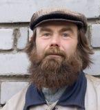 бородатый человек Стоковые Изображения