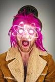 Бородатая сумасшедшая атомная энергия Стоковая Фотография