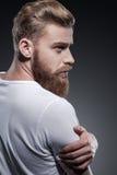 Бородатое красивое Стоковое фото RF