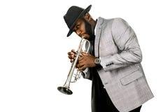 Бородатый трубач Стоковые Фотографии RF