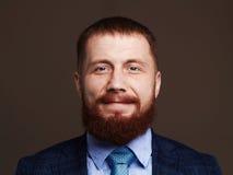 бородатый человек Старый мальчик битника Стоковые Фото