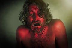 Борода изверга демона Стоковое фото RF