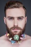 Борода партии Стоковое Изображение RF