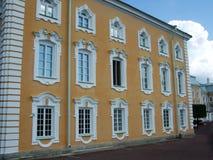 Бортовая стена petrodvorets стоковое фото rf