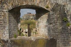 Бортовой лафет на форте Pickens Стоковая Фотография RF