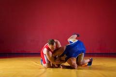 2 борца молодых человеков Стоковое Изображение RF