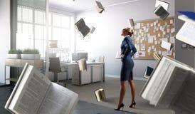 Босс дамы в гневе Мультимедиа стоковые изображения