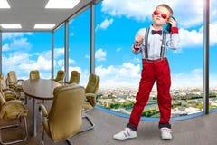 босс немногая Большая успешная компания Стоковое Изображение RF