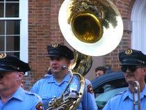 Бостон, МАМЫ, США, 28-ое августа 2012: Пиршество ` s Святого Антония Стоковая Фотография