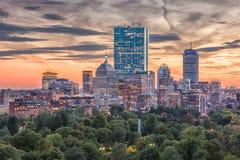 Бостон, Массачусетс, США Стоковое Изображение RF