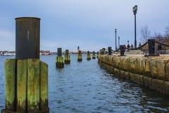 Бостон, портовый район мам Стоковые Фото