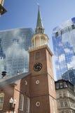 Бостон, прогулка через городской Бостон Стоковые Изображения