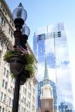 Бостон, прогулка через городской Бостон Стоковая Фотография RF