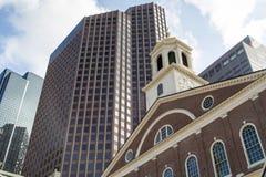 Бостон, прогулка через городской Бостон Стоковое Изображение RF