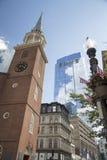 Бостон, прогулка через городской Бостон Стоковые Изображения RF