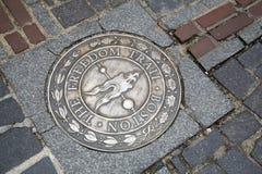Бостон, прогулка через городской Бостон Стоковые Фото